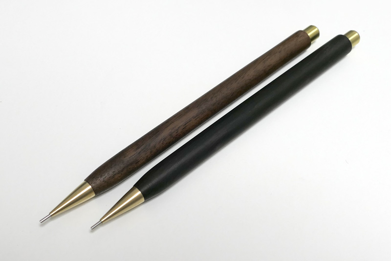 Handmade Walnut and Brass Mechanical Pencil_09