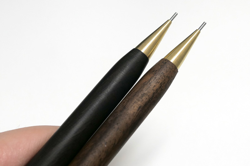 New Handmade Ebony & Brass Hardwood Mechanical Pencil_03